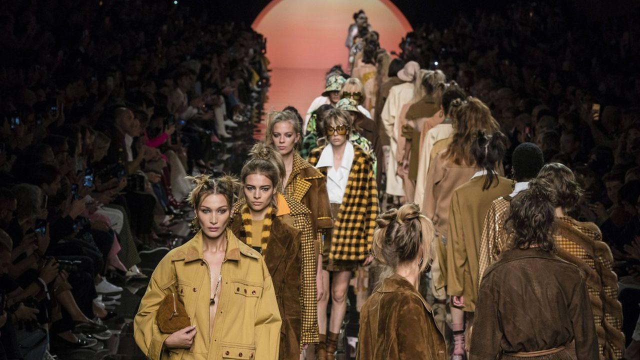 Fashion Week Printemps-Eté 2020: l'énergie de Fendi
