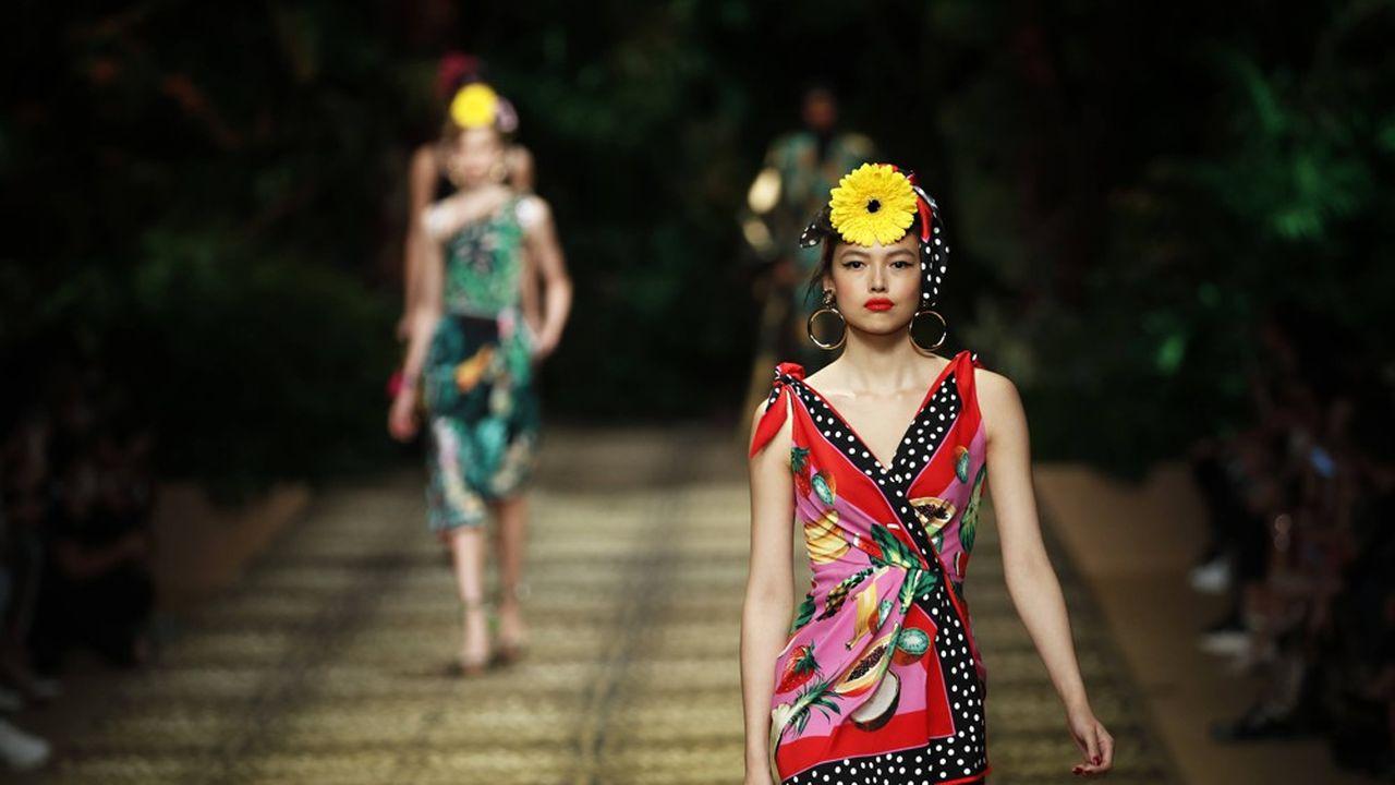 Fashion Week Printemps-Eté 2020: les tropiques de Dolce & Gabbana