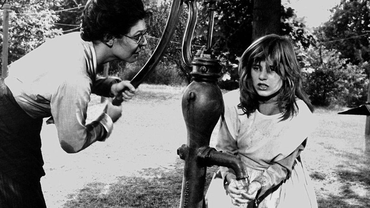 Anne Bancroft (oscar de la meilleure actrice) et Patty Duke (oscar du meilleur second rôle) dans le chef d'oeuvre d'Arthur Penn (1962).