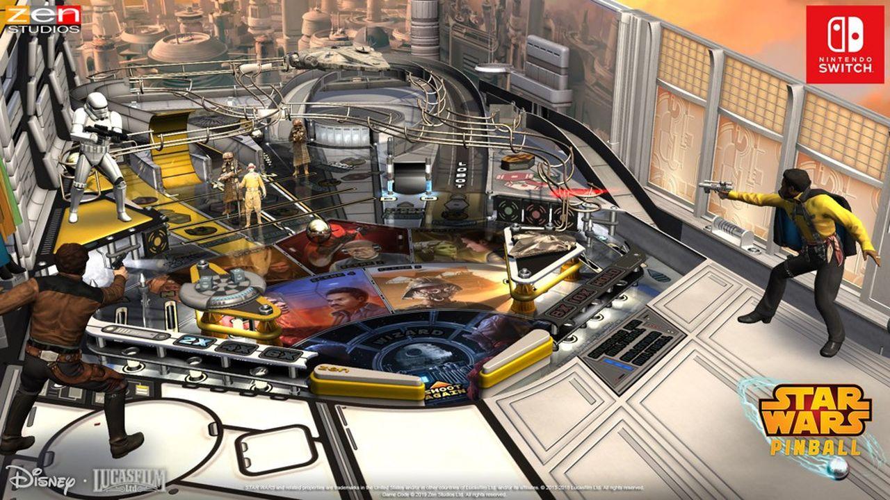 Jeu vidéo: Star Wars Pinball, tous à table