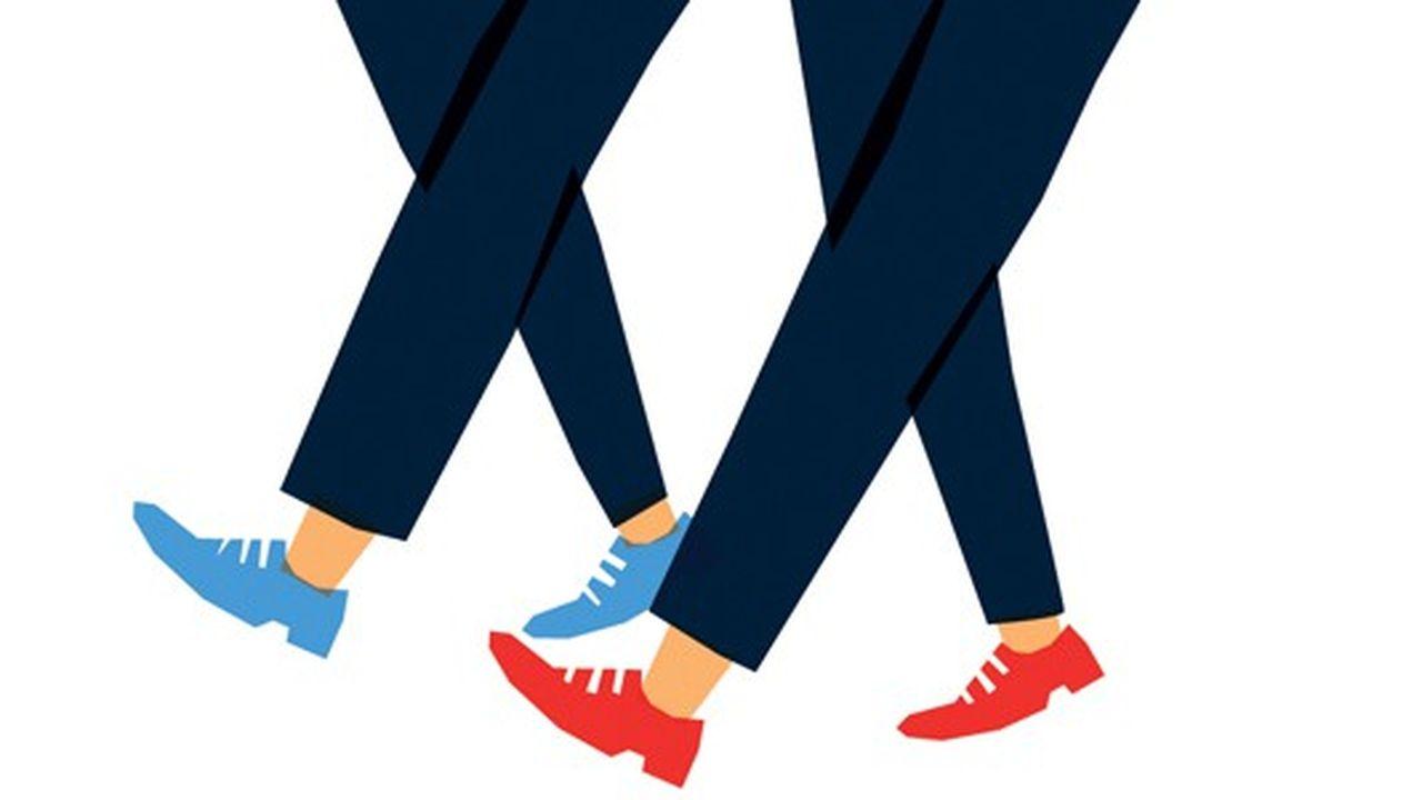 Travailler en marchant et vice versa