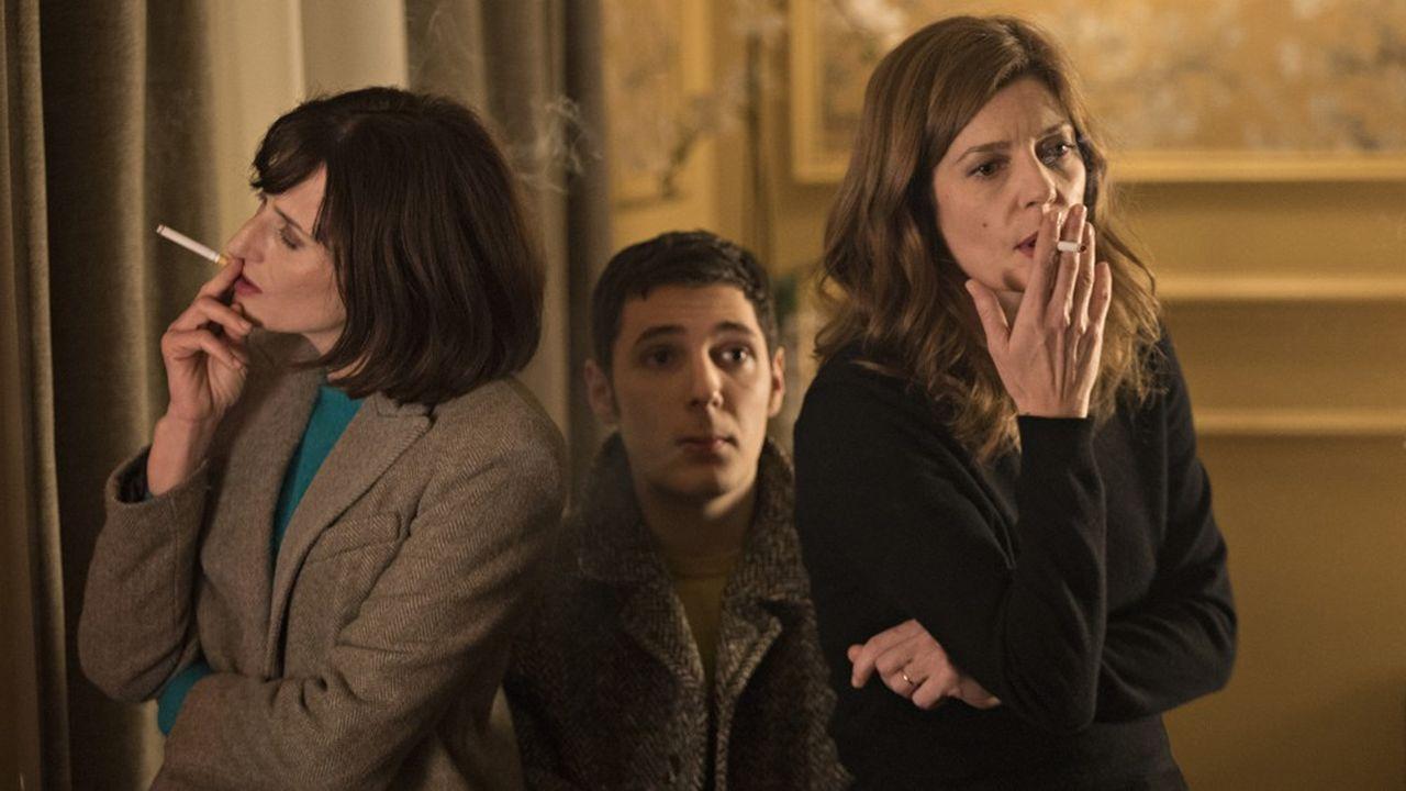 Chiara Mastroianni, Camille Cottin et Vincent Lacoste. Avec Benjamin Biolay (hors champ): le casting de rêve de Christophe Honoré.