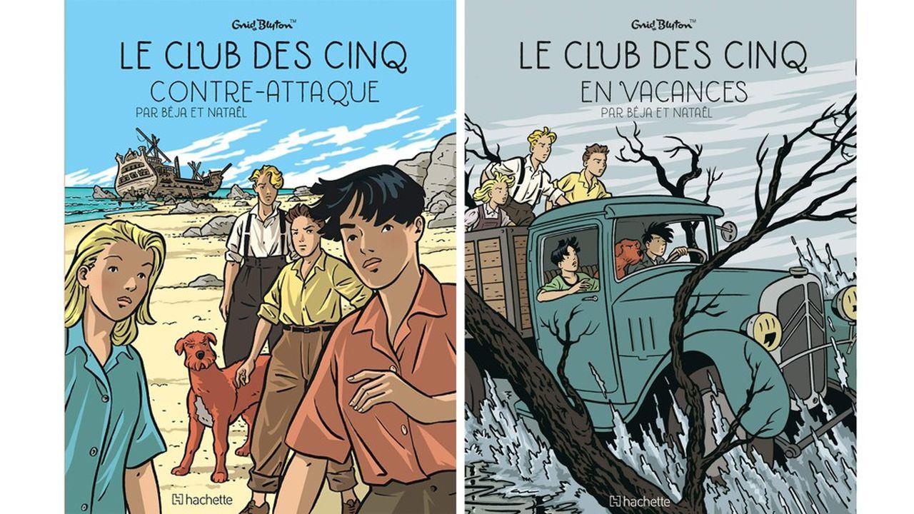 Rayon BD: «Le Club des cinq», âmes fifties