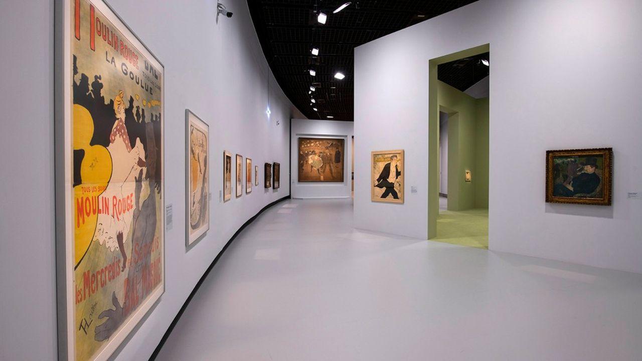 La production de cet être flamboyant est évoquée à travers une exposition académique, sage et diluée.