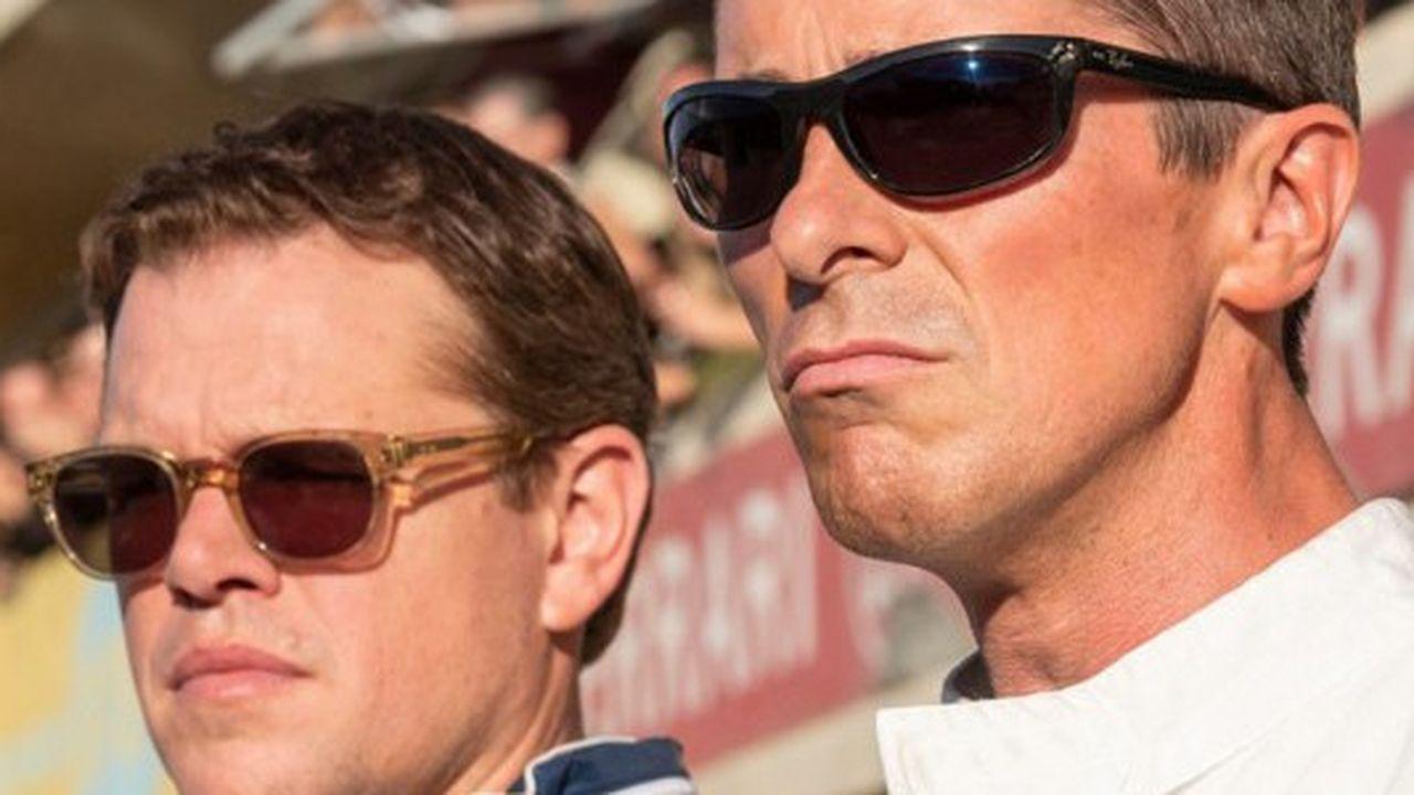 Carroll Shelby (Matt Damon) et Ken Miles (Christian Bale), le duo de Ford qui veut battre Ferrari