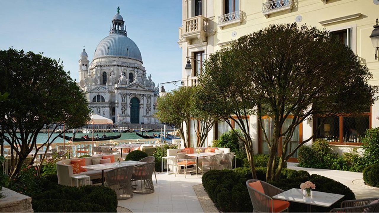 Le repaire: St Regis Venice, palace avec vue