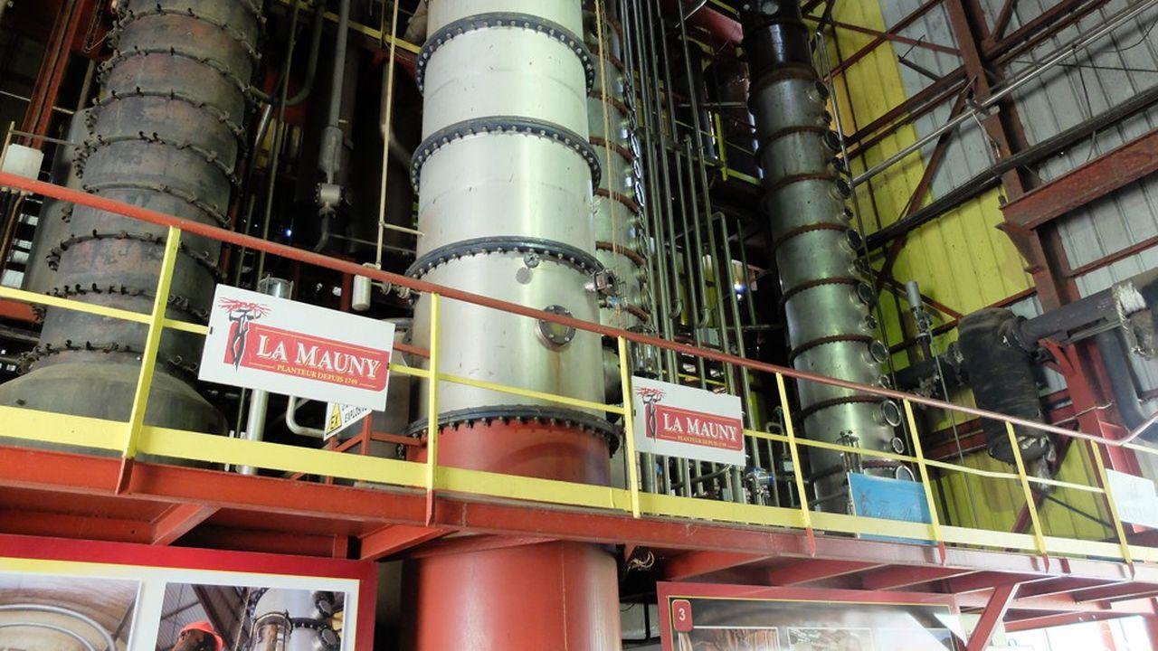 Colonnes Distillation la mauny
