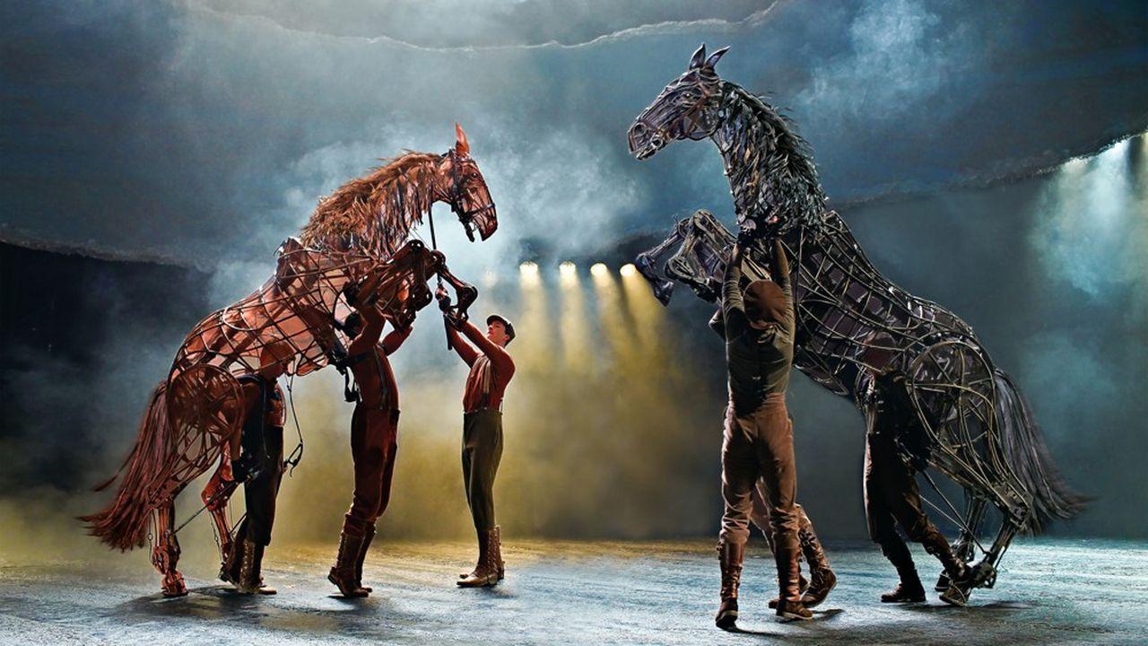 «War Horse» sera à l'affiche de la Seine musicale, à Boulogne-Billancourt, pour 34 représentations jusqu'au 29 décembre prochain.
