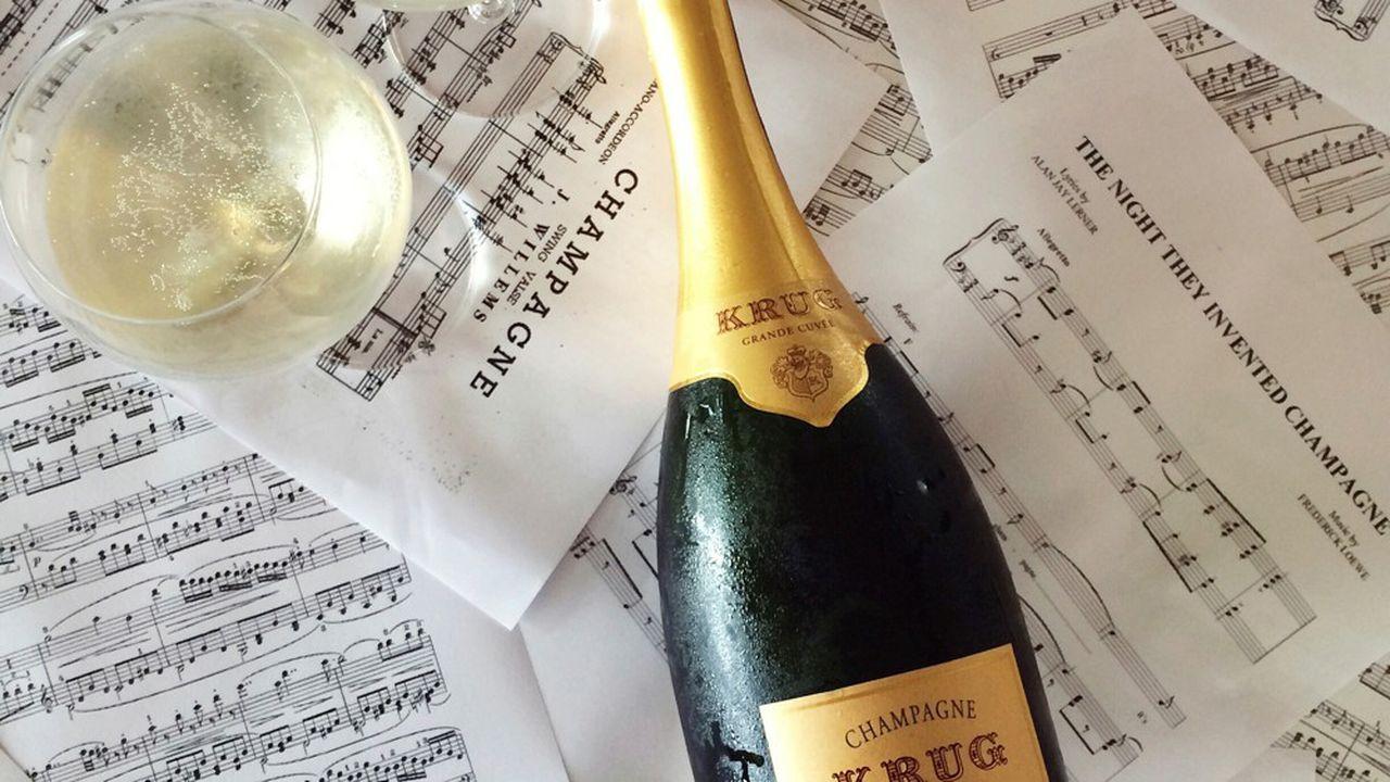 Krug, champagne et musique