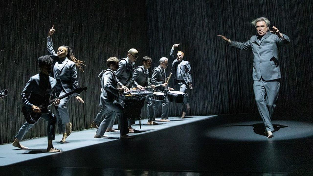 David Byrne, tête dansante à Broadway