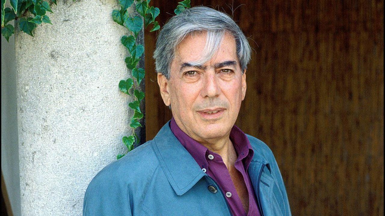 Portrait de Mario Vargas Llosa.
