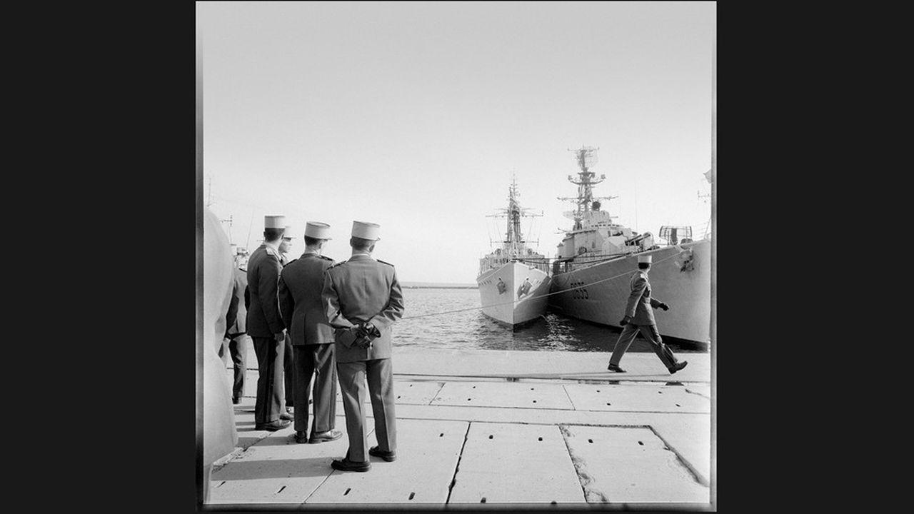 Journée des grandes écoles militaires, à Brest, Finistère, 1963.