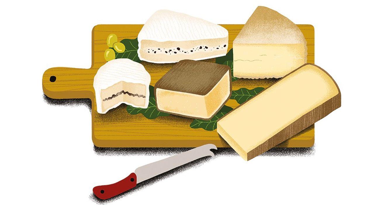 Top 5: les meilleurs fromages de fête