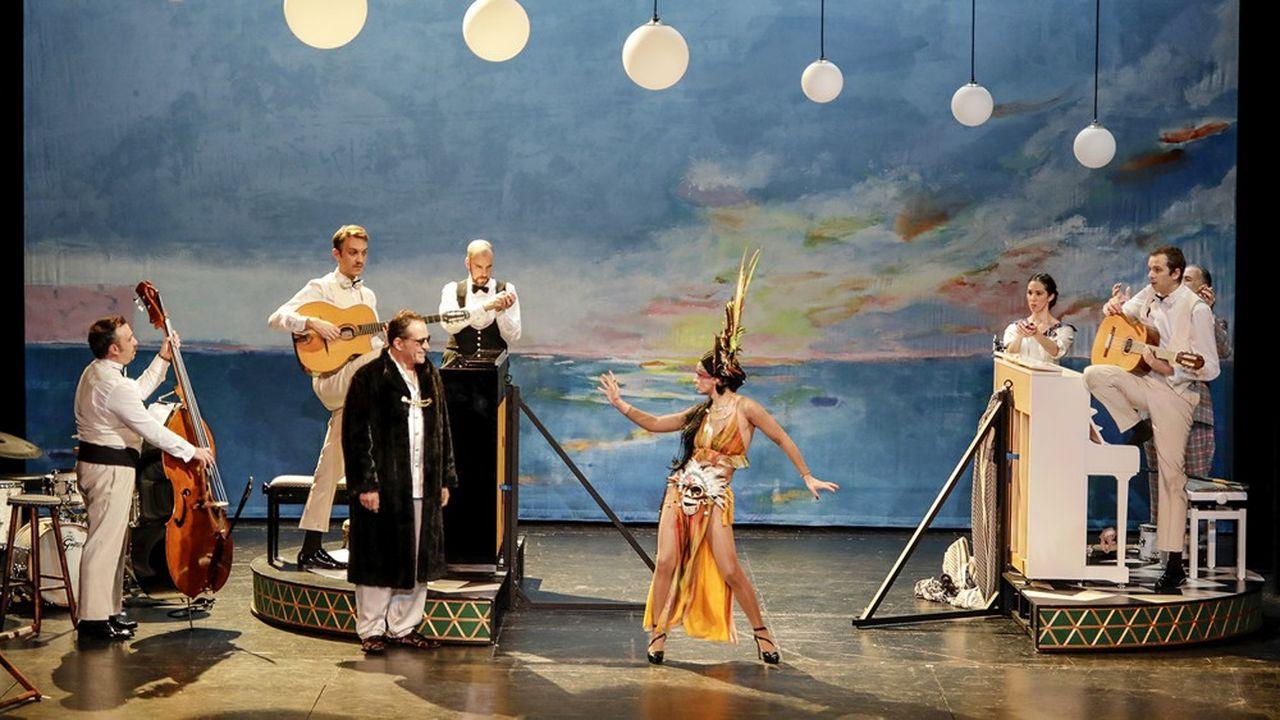 Cette nouvelle production du Palazetto Bru Zan anime le plateau d'une bonne humeur contagieuse.