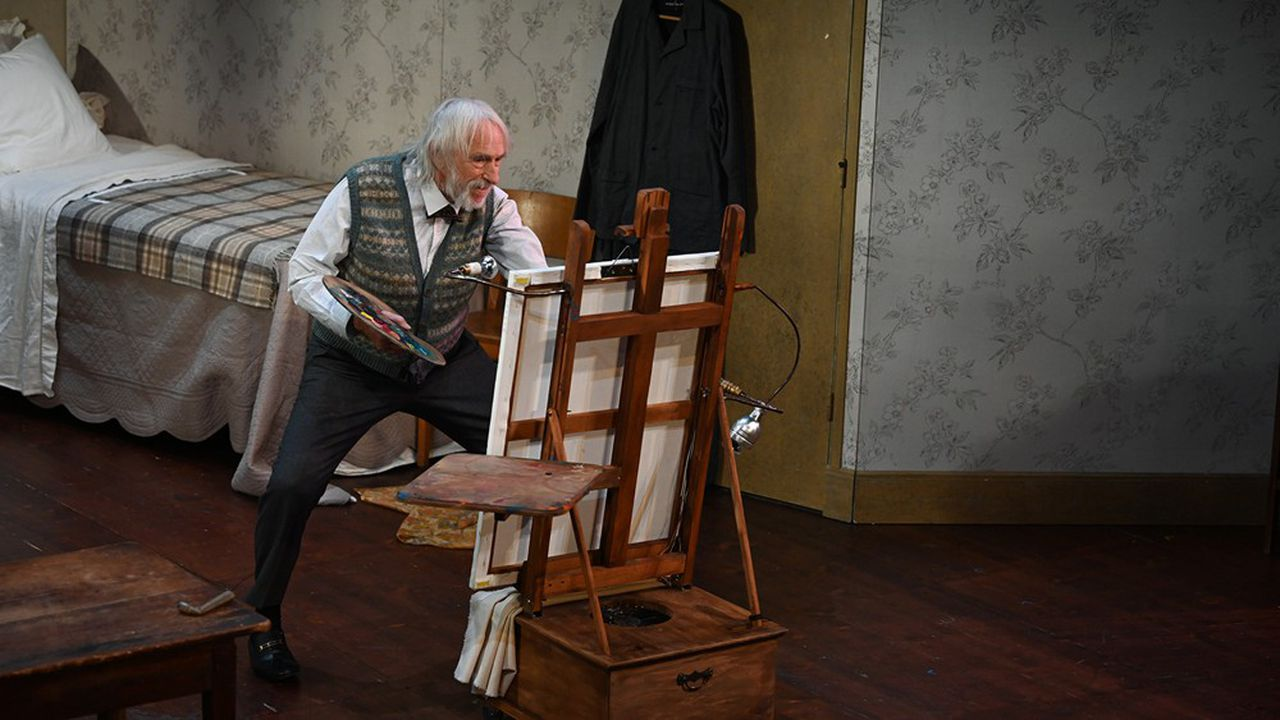 A 85 ans, Pierre Richard irradie toujours le plateau de sa personnalité si particulière et poétique.