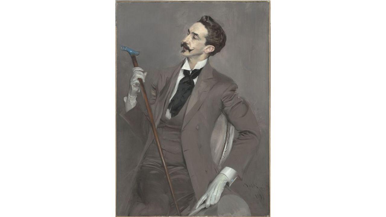 «Le Comte Robert de Montesquiou», Giovanni Boldini (1842-1931). Paris, musée d'Orsay.