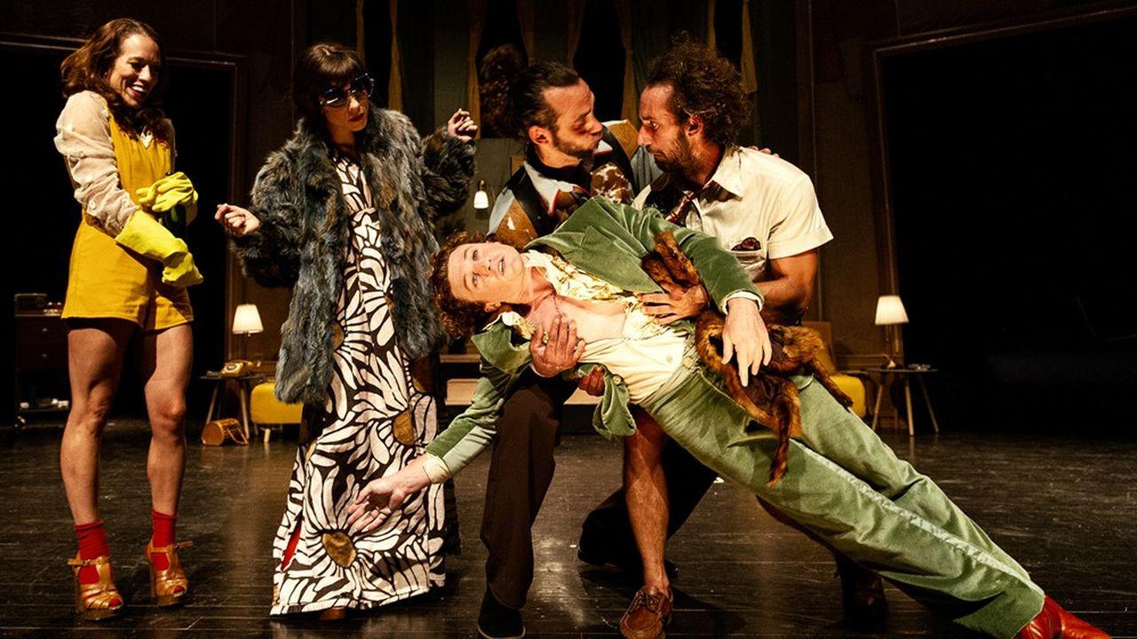 «La Nuit du cerf»: Le Roux, cirque à sensations