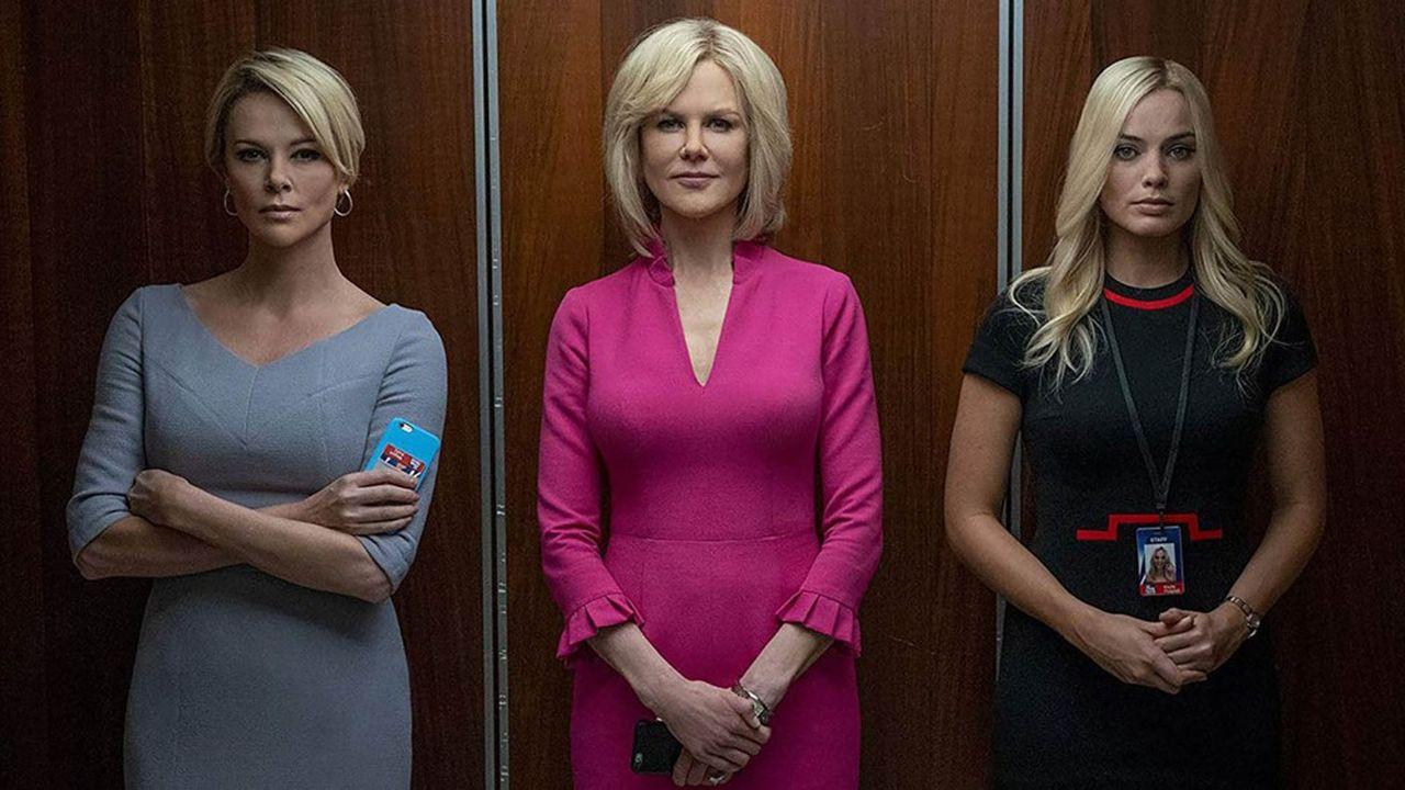 « Scandale » de Jay Roach frappe fort en évoquant les scandales de harcèlements sexuels au sein de la chaîne « Fox News » en 2016.