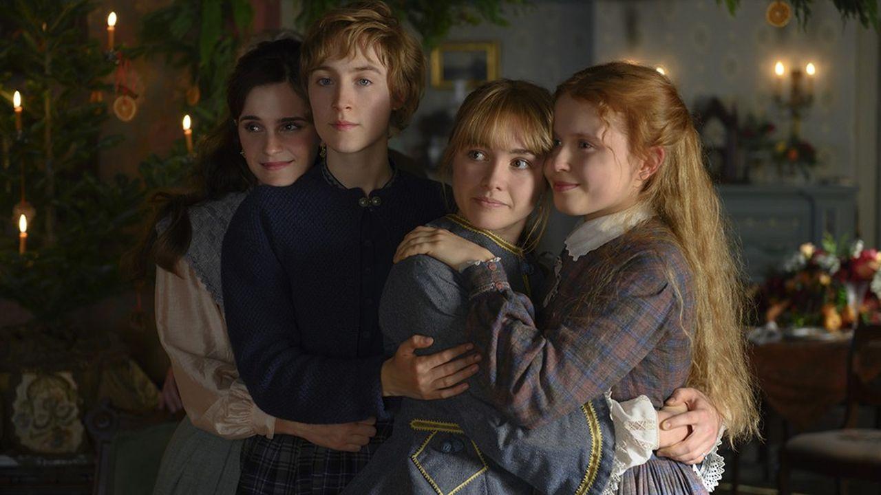 Emma Watson, Saoirse Ronan, Florence Pugh et Eliza Scanlen.
