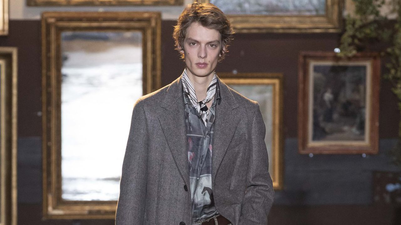 Fashion Week Homme Automne-Hiver 2020-21 : le chic d'Etro