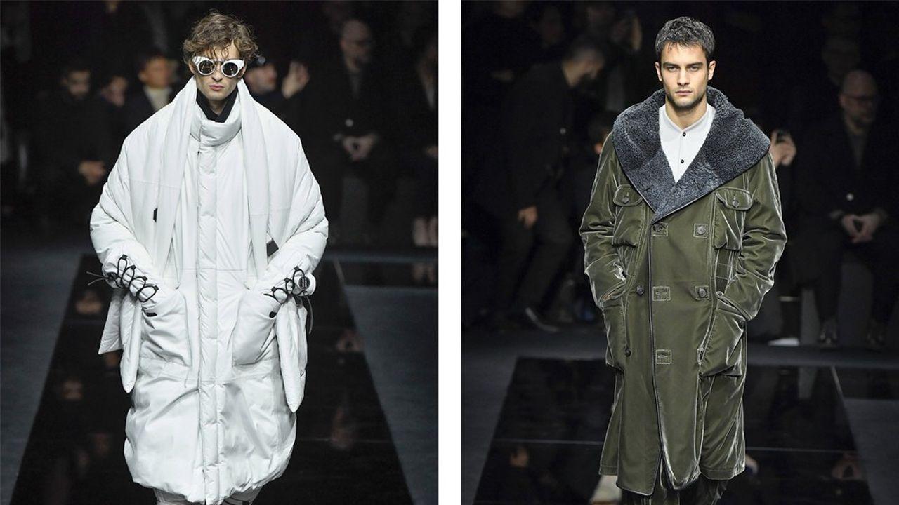 Fashion Week Homme Automne-Hiver 2020-21: élégance et innovation chez Giorgio Armani
