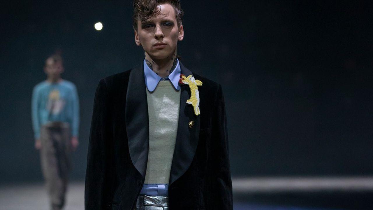 Fashion Week Homme Automne-Hiver 2020-21: l'homme pluriel de Gucci