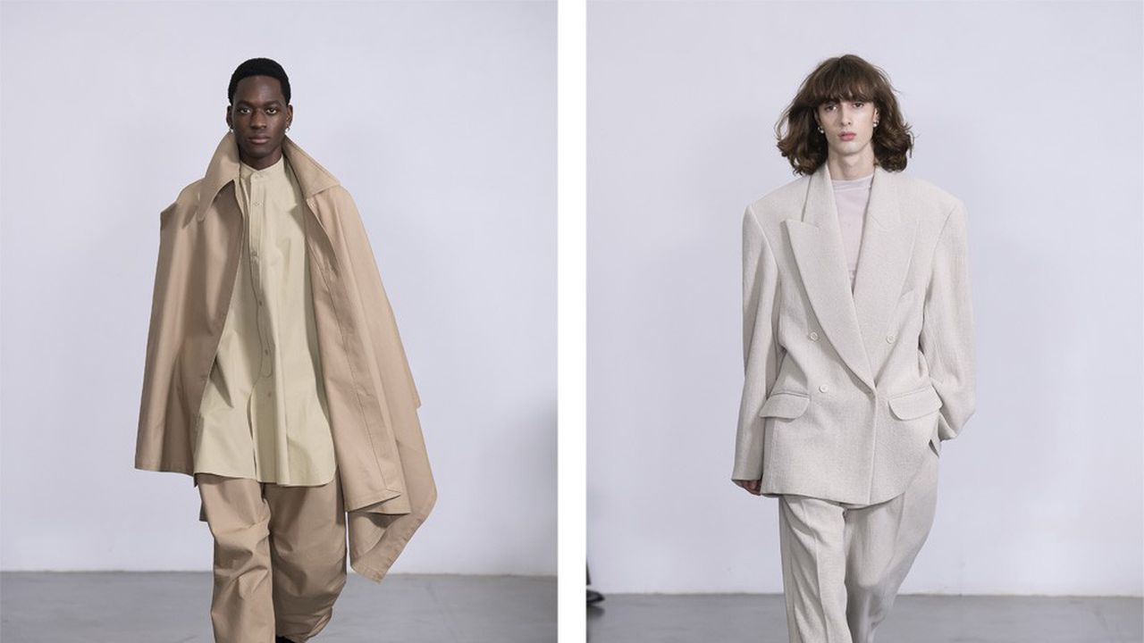 Fashion Week Homme Automne-Hiver 2020-21: le cocooning version luxe de Hed Mayner