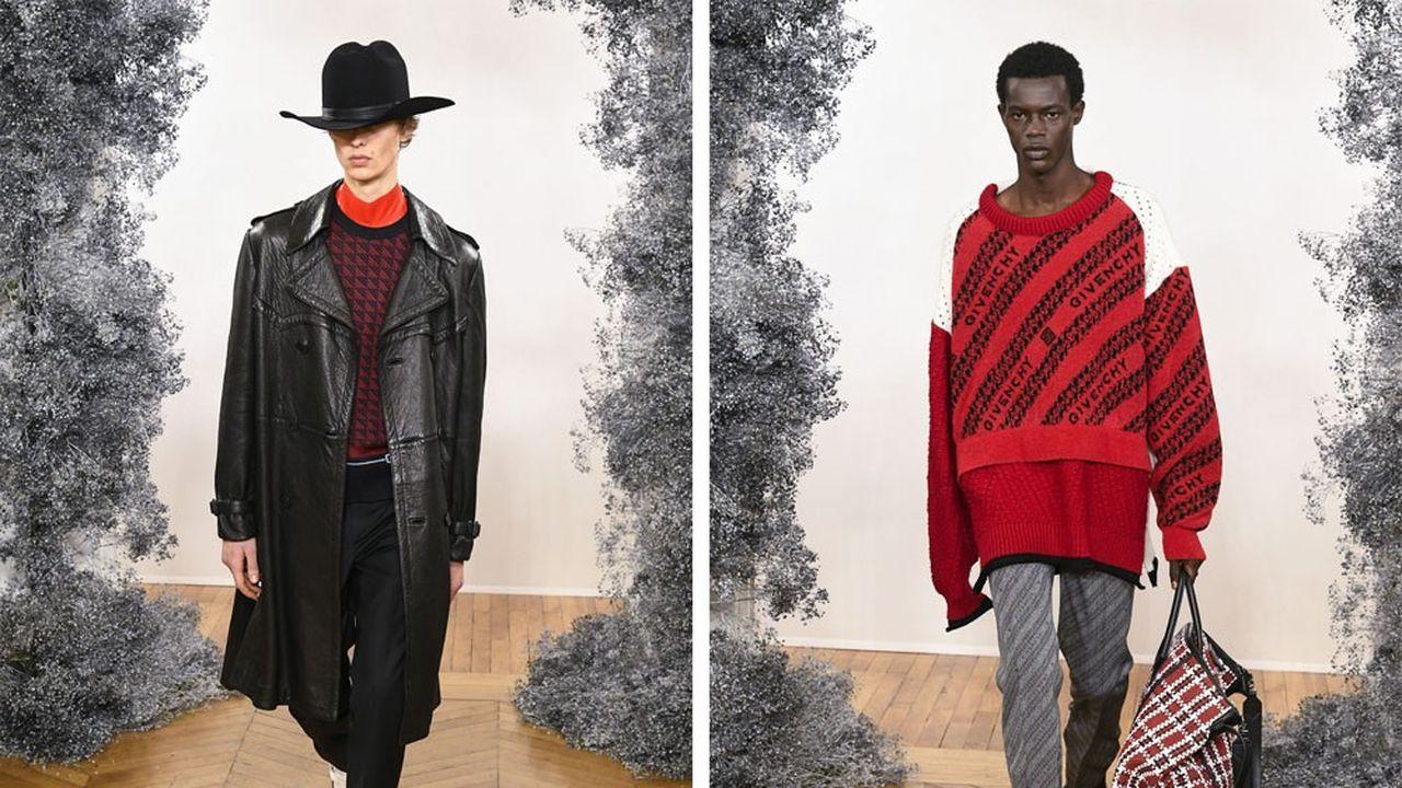 Fashion Week Homme Automne-Hiver 2020-21: le parti-pris couture de Givenchy