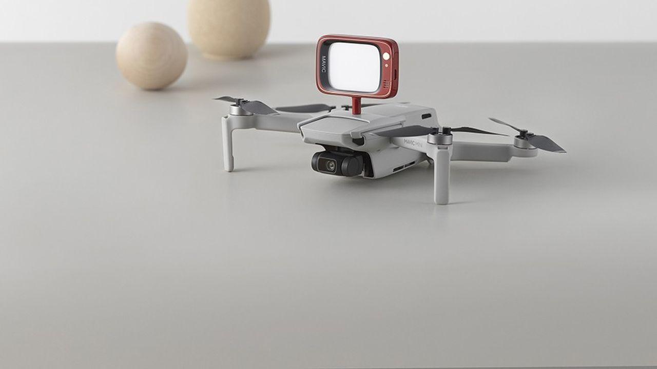 Drone Mavic Mini, les yeux au ciel