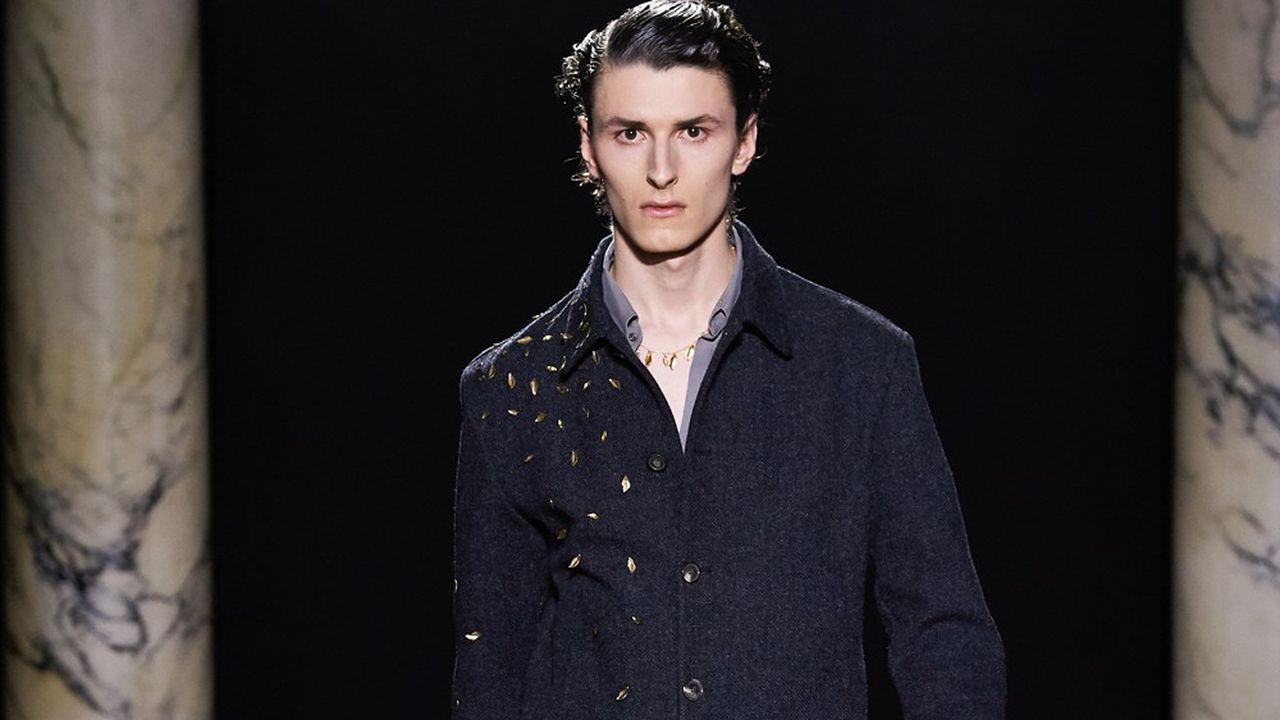 Fashion Week Homme Automne-Hiver 2020-21: l'allure poétique de Rochas