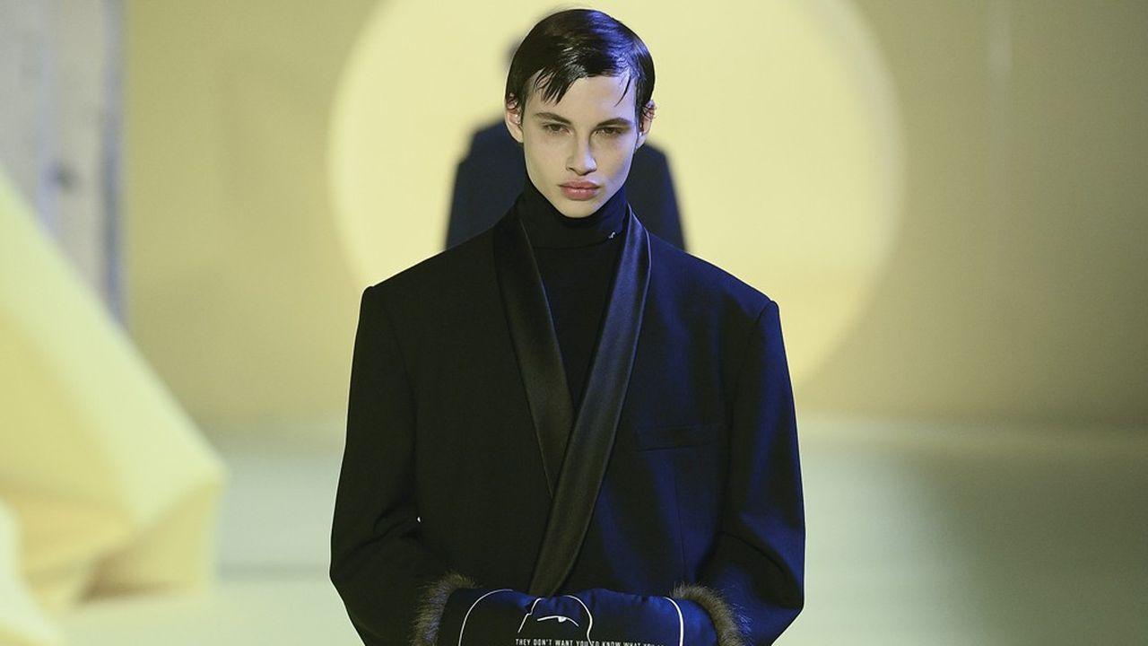 Fashion Week Homme Automne-Hiver 2020-21: l'esprit sci-fi sublimé de Raf Simons