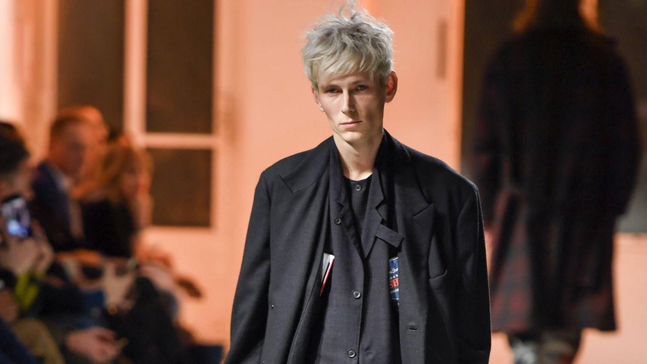 Fashion Week Homme Automne-Hiver 2020-21 : le doux tempo de Yohji Yamamoto
