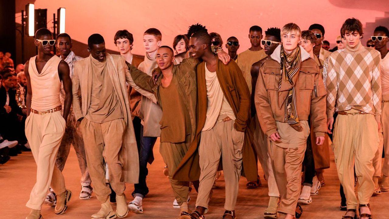 Fashion Week Homme Automne-Hiver 2020-21: la célébration multiculturelle de Balmain