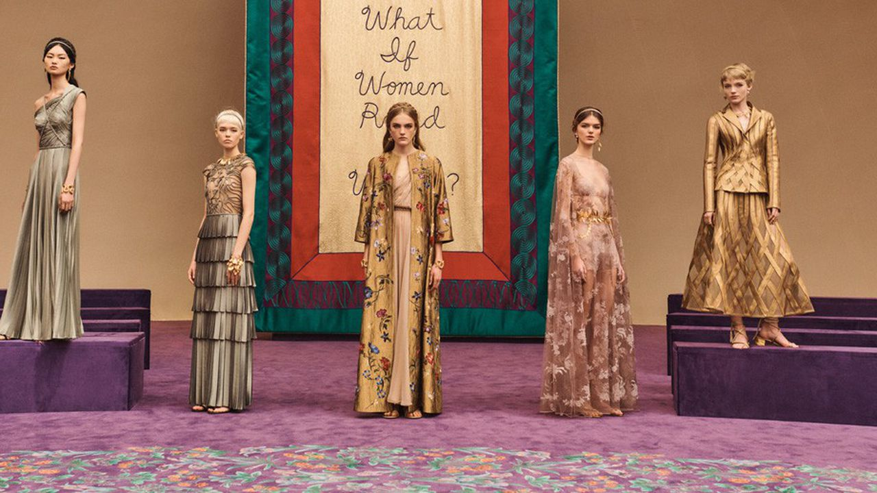 Fashion Week Haute Couture Printemps-Eté 2020 : les déesses de Dior