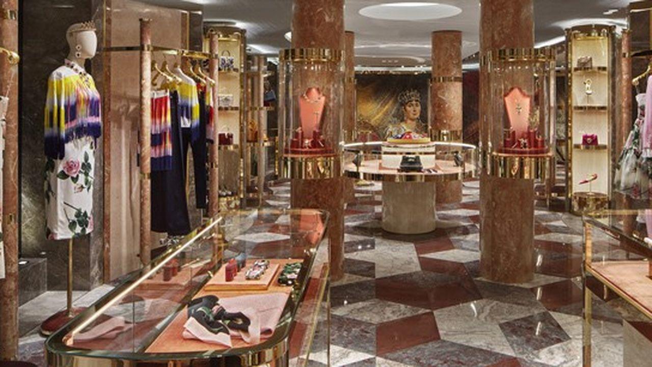 À Paris, un nouveau flagship flambant neuf pour Dolce & Gabbana