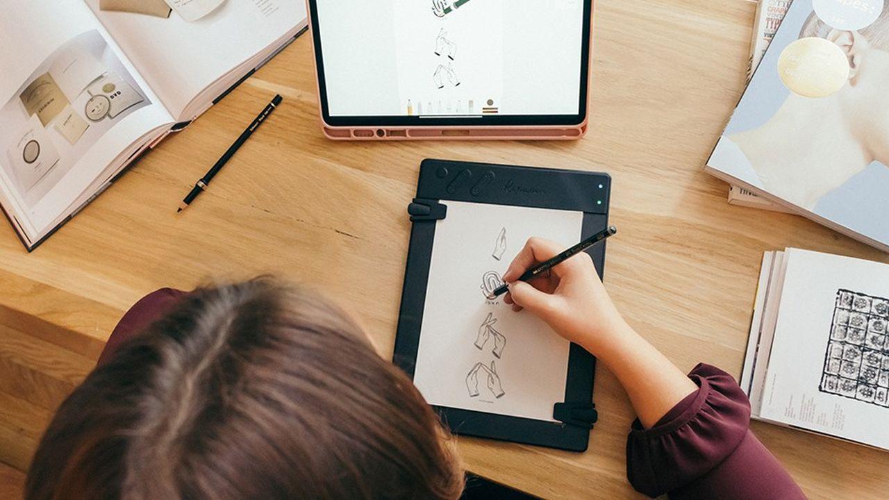 Ardoise intelligente: créatifs 2.0, à vos crayons