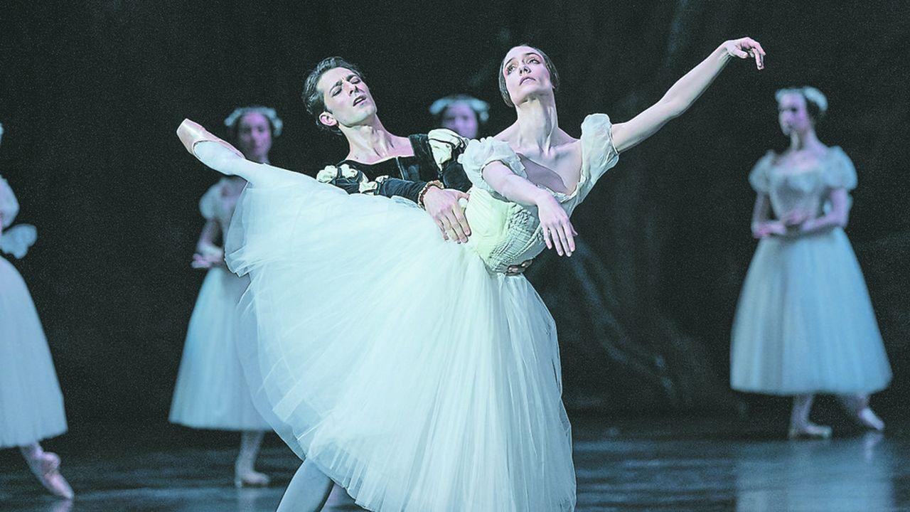 Dorothée Gilbert et Mathieu Ganio, les deux stars de «Giselle».