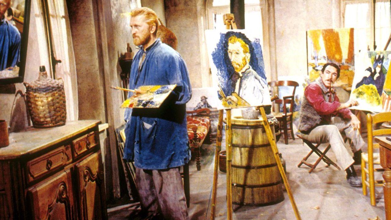 Kirk Douglas dans 'La vie passionnée de Vincent Van Gogh'