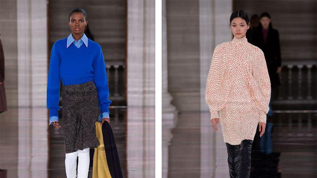 Fashion Week Automne-Hiver 2020-21 : toutes les femmes de Victoria Beckham