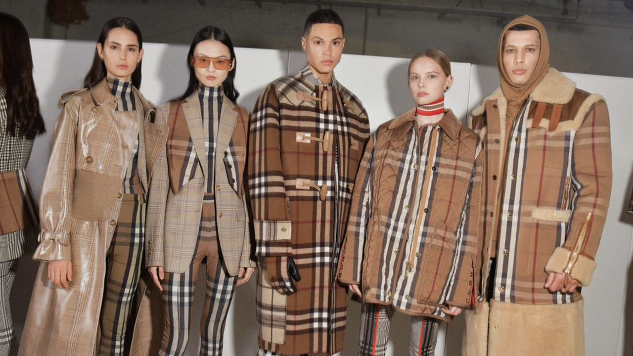 Fashion Week Automne-Hiver 2020-21: luxe moderne chez Burberry