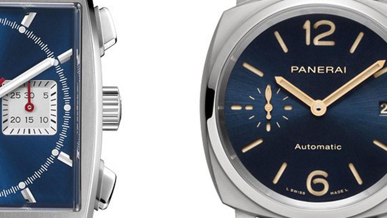 Heures Actuelles : montres bleues