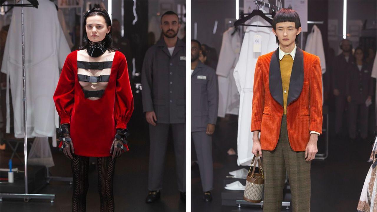 Fashion Week Automne-Hiver 2020-21 : partition gagnante pour Gucci