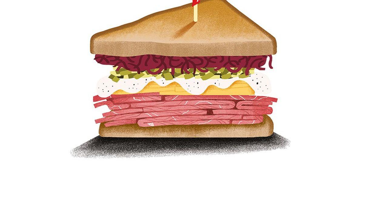 Top 5: les meilleurs sandwichs Reuben