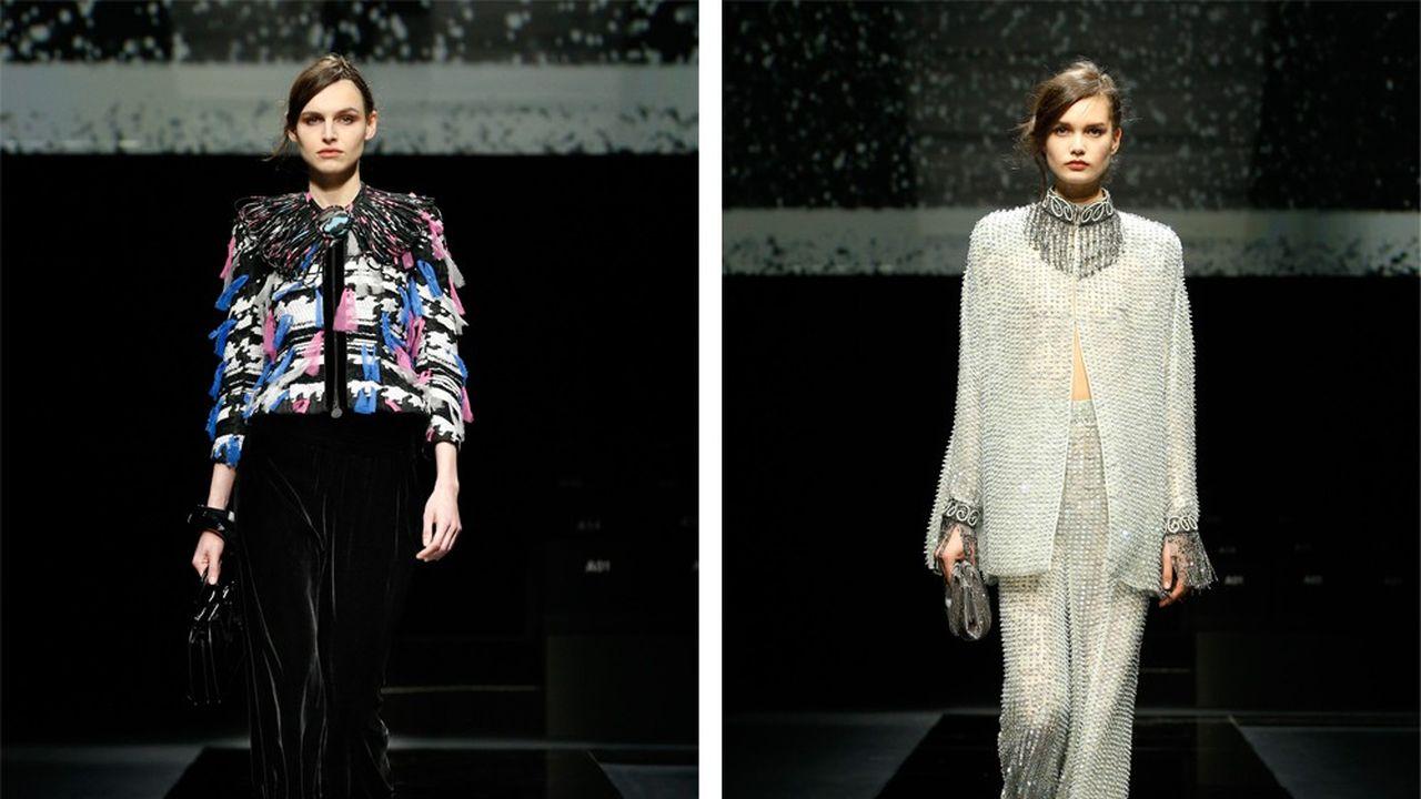 Fashion Week Automne-Hiver 2020-21 : un défilé Armanissime qui fait l'actualité
