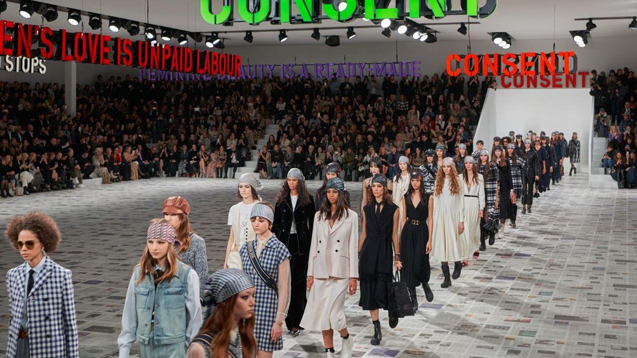 Fashion Week Automne-Hiver 2020-21 : l'ode au féminin de Dior