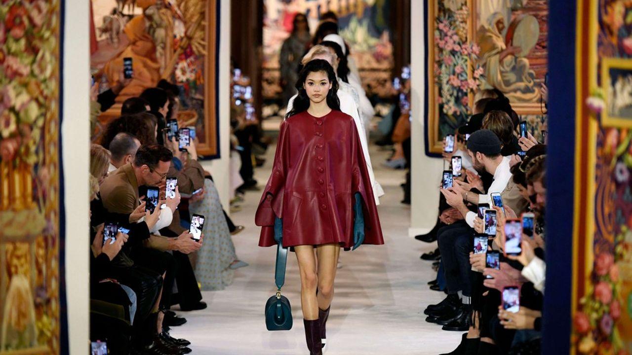Fashion Week Automne-Hiver 2020-21: le chic aux influences sixties de Lanvin