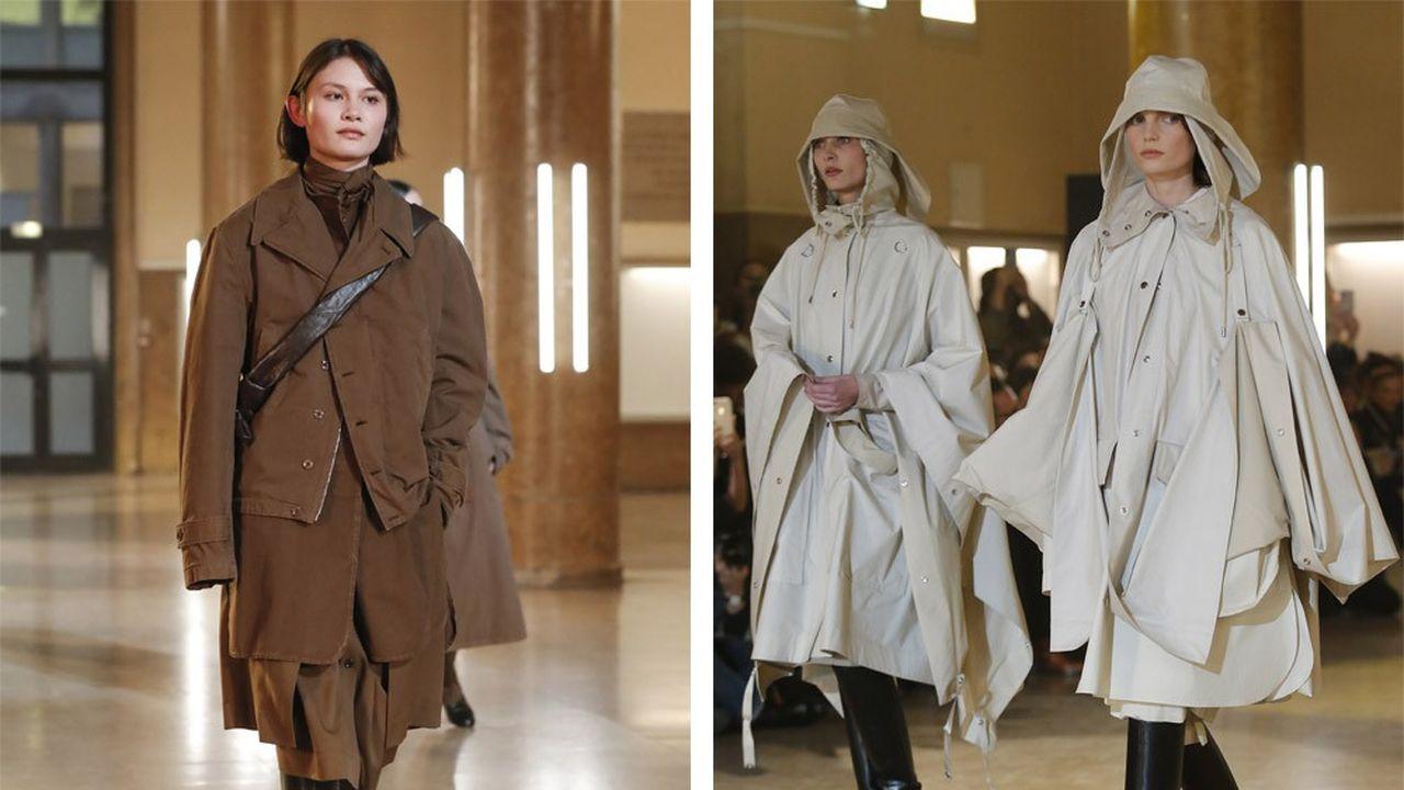 Fashion Week Automne-Hiver 2020-21: le charme certain de Lemaire