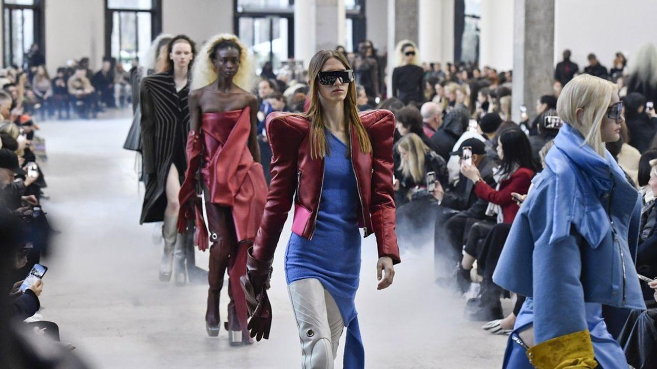 Fashion Week Automne-Hiver 2020-21: le glamour à la manière de Rick Owens