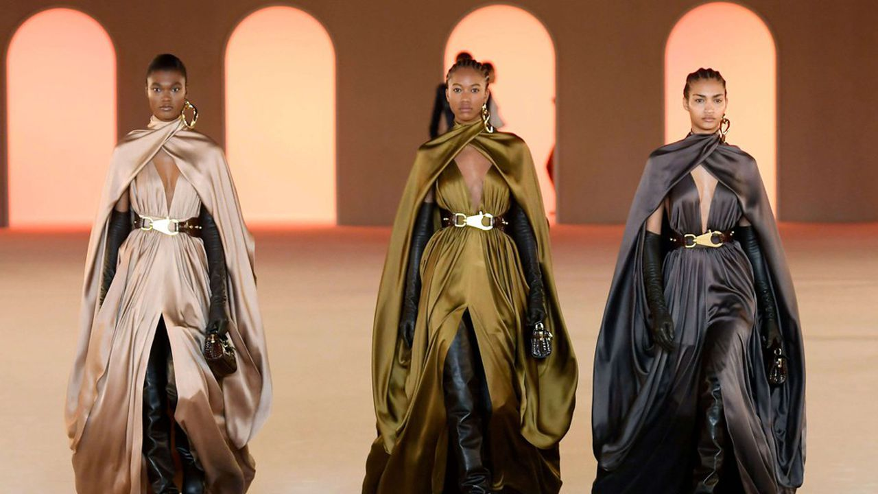 Fashion Week Automne-Hiver 2020-21: la mode blockbuster de Balmain