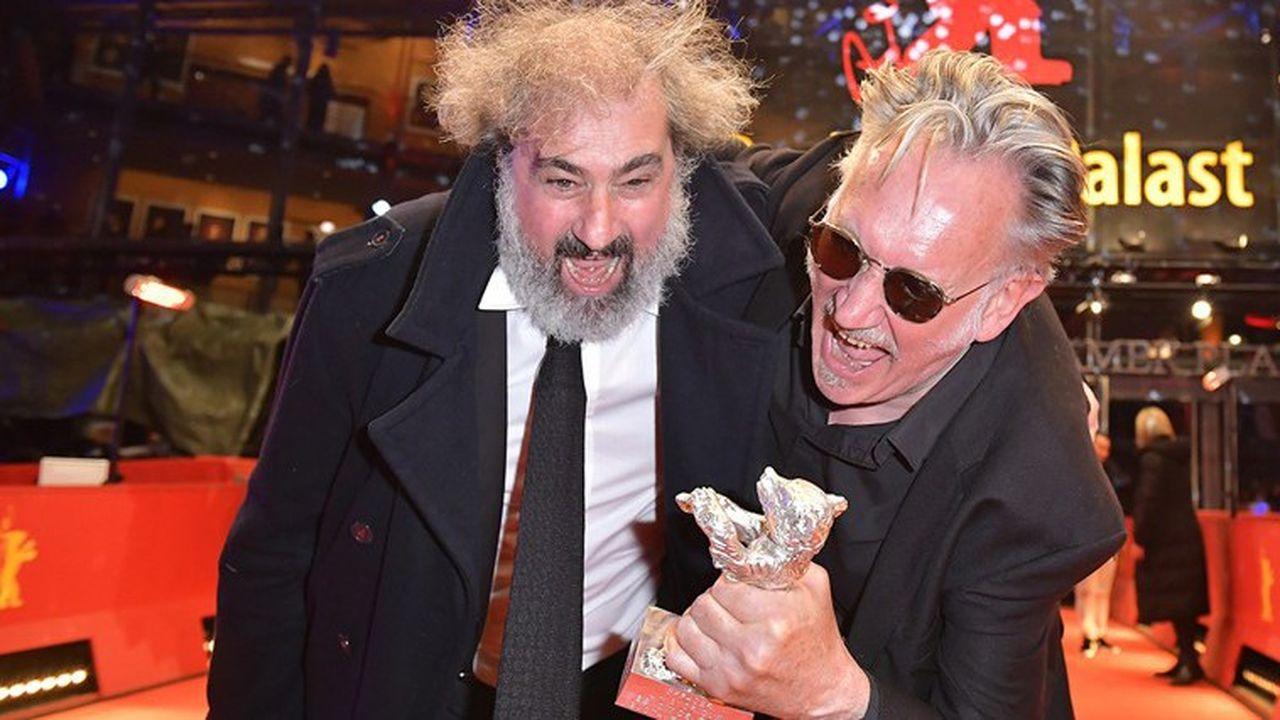 Benoit Delépine et Gustave Kervern ont reçu un ours d'argent spécial pour « Effacer l'historique ».